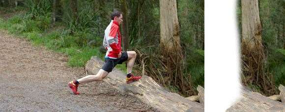 The technique for ultra-running is all about conserving energy,