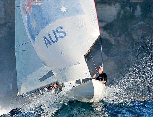 The 470 is an Olympic class of sailing.