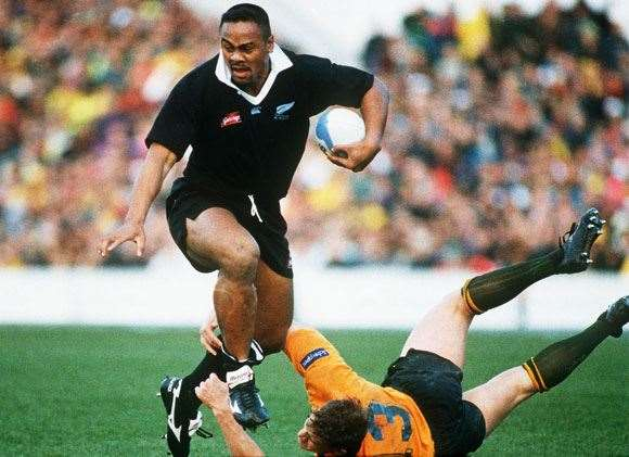 """Even Jason Little was reduced to """"speed hump"""" status against Jonah Lomu."""