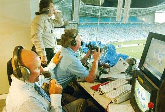 The likes of Phil Gould and Peter Sterling add colour, but Ray Warren rules.