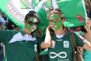 Canberra United supporters at the 2012 Grand Final | TWG