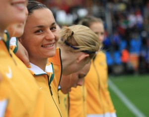 Melissa Barbieri remembers her first cap for Australia | TWG