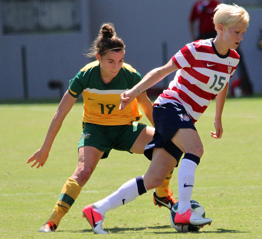 Australia will face the USWNT and former coach Tom Sermanni in October