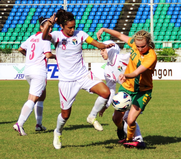 Young Matildas move to the top of Group A as they remain undefeated | (Credit: ASEAN FF)
