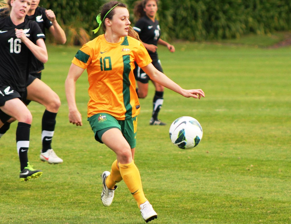 Capped senior Matildas striker Hayley Raso will be a key player | (Credit: http://www.jlsphotographs.com)