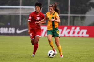 DPR Korea stun the Young Matildas in the opening match | Credit: Ann Odong
