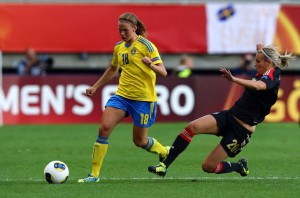 The Swedish WNT defender looks set to join a class trio of Melbourne internationals | Credit: Getty Images