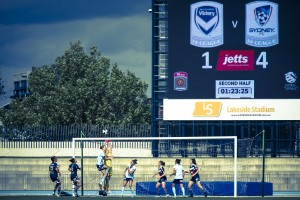 Sydney FC sounded a warning bell to their rivals | Credit: Emily Mogic
