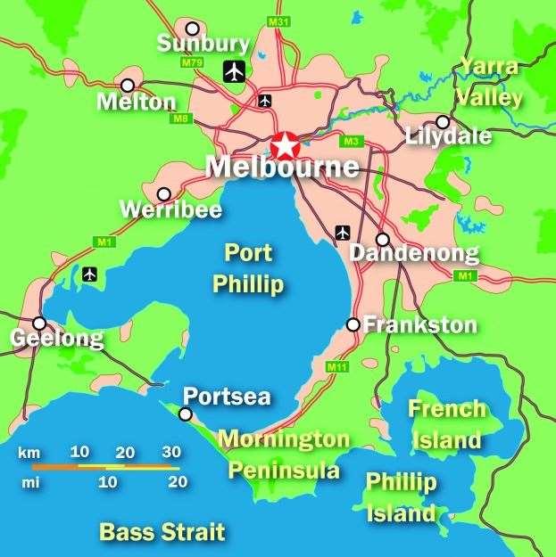 Melbourne Metro Bike Track - Australian Mountain Bike | The home for on niger river australia map, athens metro map, narmada river map, trail map, snowy river australia map, derwent river australia map,
