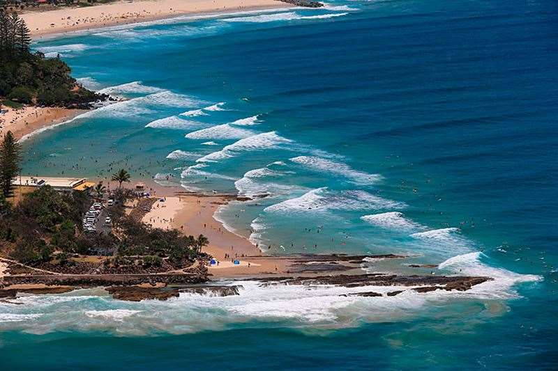 Cyclone season may be upon us but attention is focused on saving the Gold Coast beaches. Photo by Simon Williams