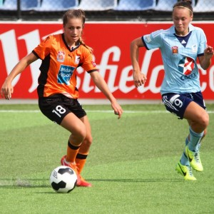Brisbane's Sunny Franco also getting minutes in her debut season