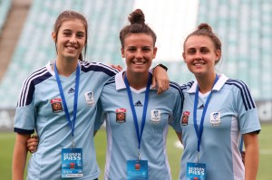 Although strong, Sydney FC is full of teenagers including Amy Harrison, Chloe Logarzo and Olivia Price