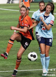 Striker Larissa Crummer has made her presence felt despite limited game time | TWG