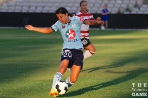 Sam Kerr looking to have another good season with the Flash | The Women's Game