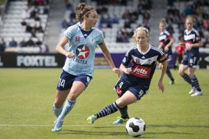 Golden Boot winner Jodie Taylor will line up for the Spirit | Credit: Emily Mogic / emilymogic.com