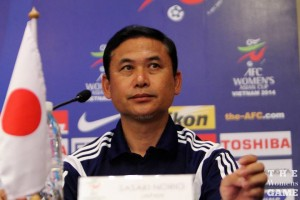 Japan coach Norio Sasaki looking to guide his team to their maiden title