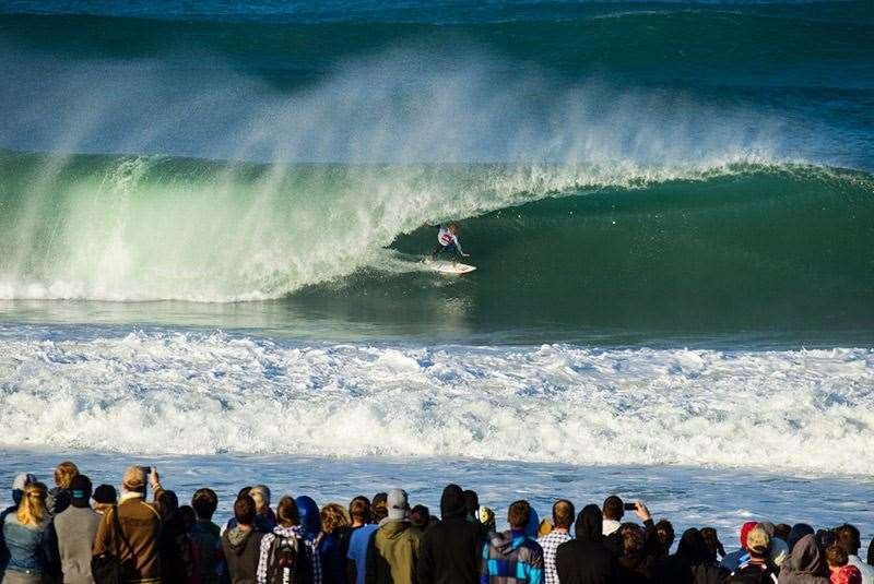 Kelly Slater isn't actually odds on favourite in Europe? Sacré bleu! Photo: Joli
