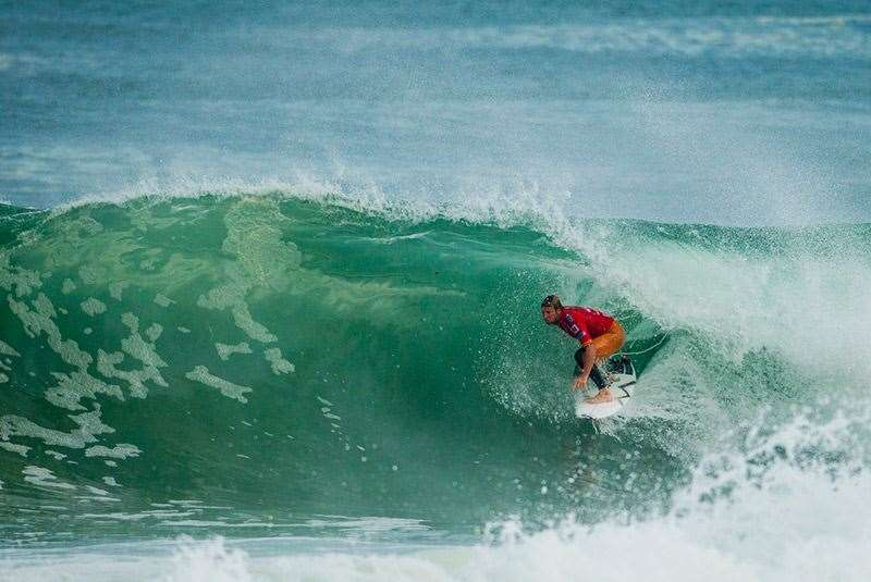Taj will be looking to make amends for a painful loss at Trestles. Photo: Joli