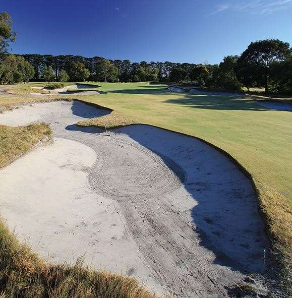 You'd better own an A-plus bunker game to score well on all courses across the sandbelt.