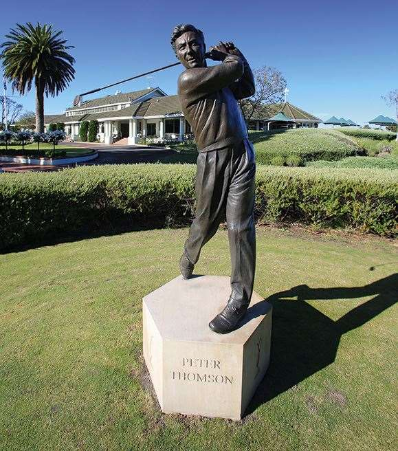 Walk in the footsteps of five-time Open champion, Peter Thomson at Victoria Golf Club.