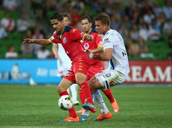 Adelaide United's own Argentinian mastermind Marcelo Carrusca. (Photo by Getty Images)