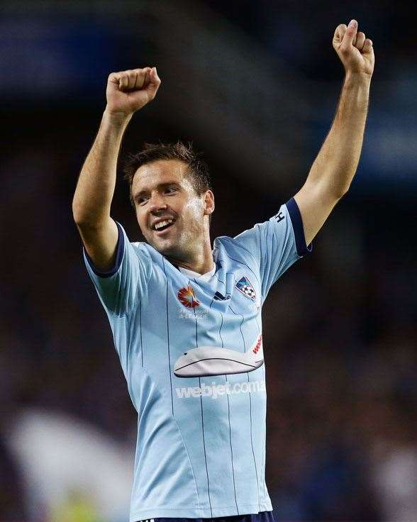 Sydney FC playmaker Milos Dimitrijevic. (Photo by Getty Images)