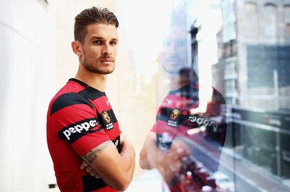 New Wanderers Australian Marquee Dario Vidosic (Photo by Getty Images)