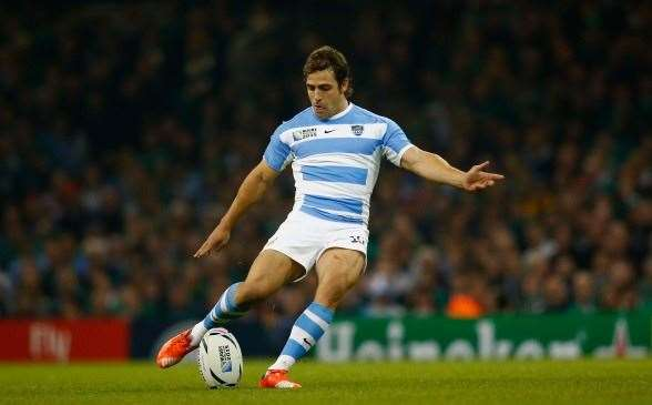 Nicolas Sanchez has steered Argentina into their second semi-final. (Photo by Getty Images)
