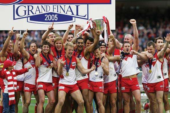 2005 AFL Grand Final - Sydney Swans v West Coast Eagles
