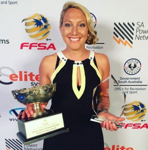 38 goals saw her awarded the 2015 Golden Boot and Player of the Year