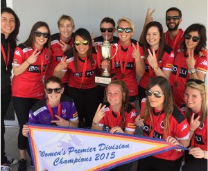 Rajcic took out the South Australian Premier League with her team Metro United