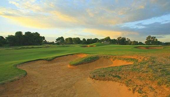 The number, position and style of Glenelg's bunkering is a hallmark of the Adelaide course.