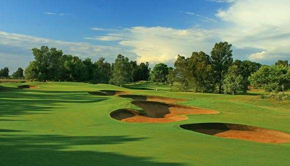 The 5th hole is a beautiful, strategic par-5 that challenges long and short hitters.