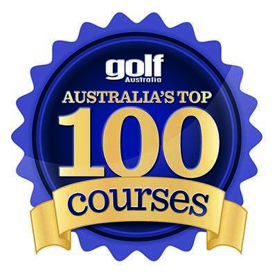 TOP 100 COURSES STAMP