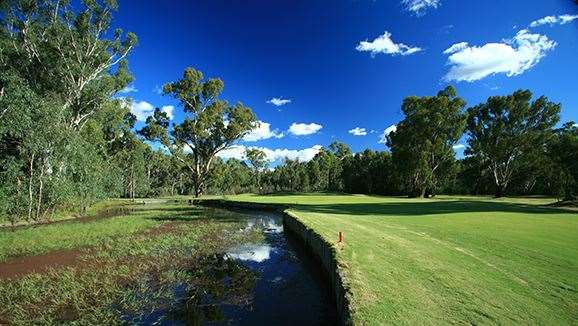 Yarrawonga & Mulwala GC's Murray course. PHOTO:Brendan James