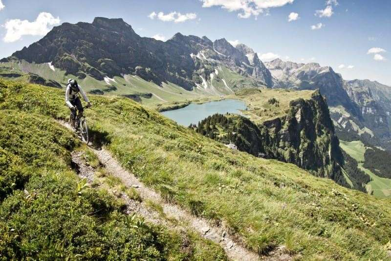 Engelberg, Switzerland, mountain bike, MTB