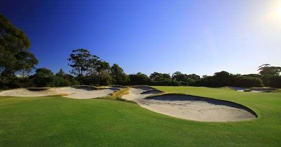 Royal Melbourne West course. PHOTO: Brendan James