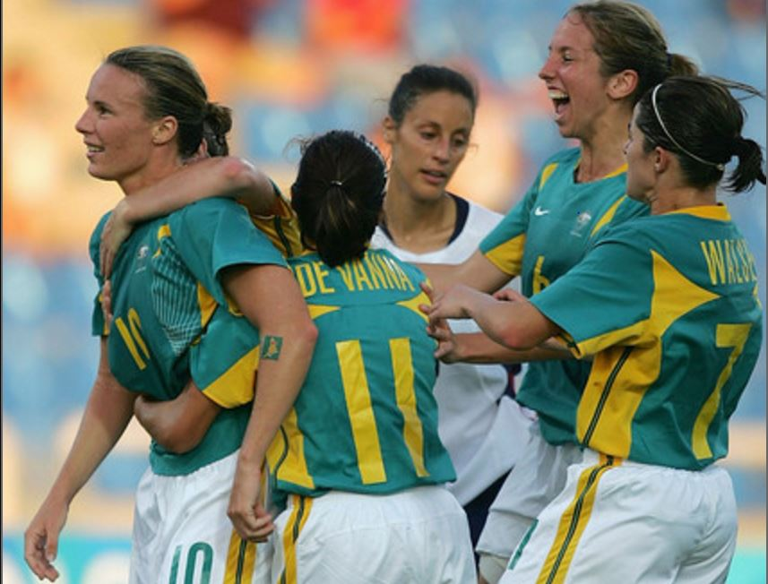 Australia last competed at the Olympics at Athens 2004 (Photo: Getty Images)
