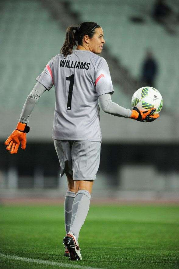 The men had Mark Schwarzer, the women have Lydia Williams. (Photo by Getty Images)