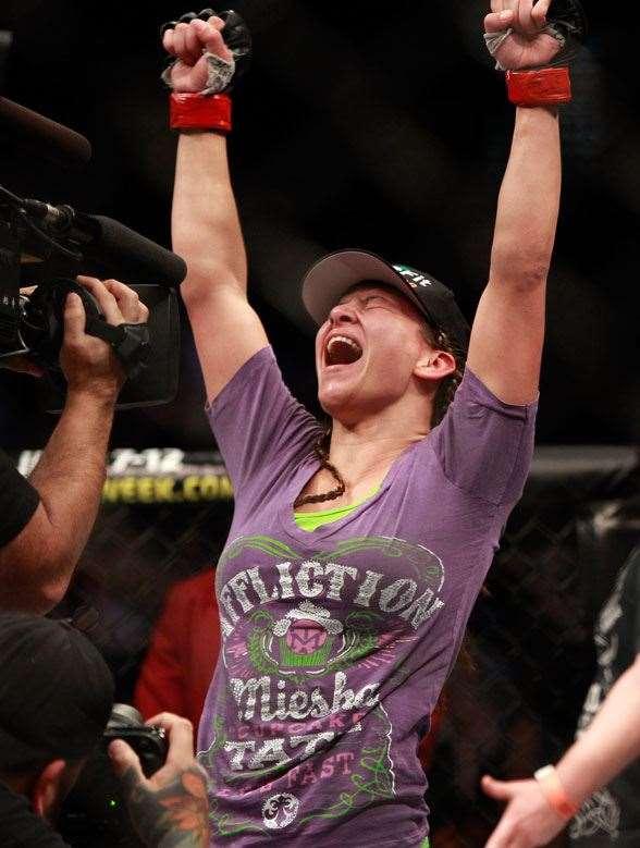 New Bantamweight Champion - Miesha Tate (Photo by Getty Images)