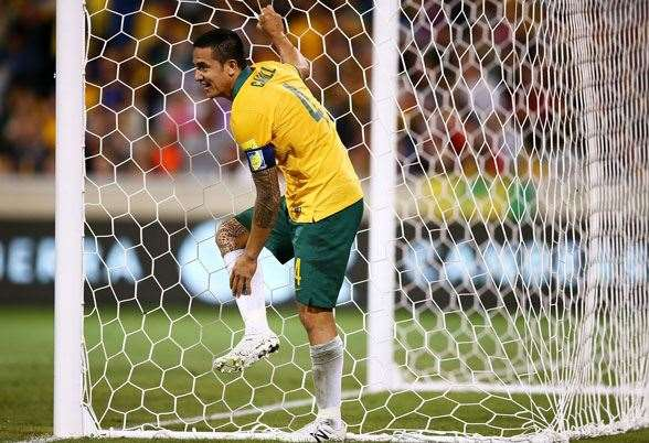 Tim Cahill - Hangzhou Greentown from Shanghai Shenhua. (Photo by Getty Images)
