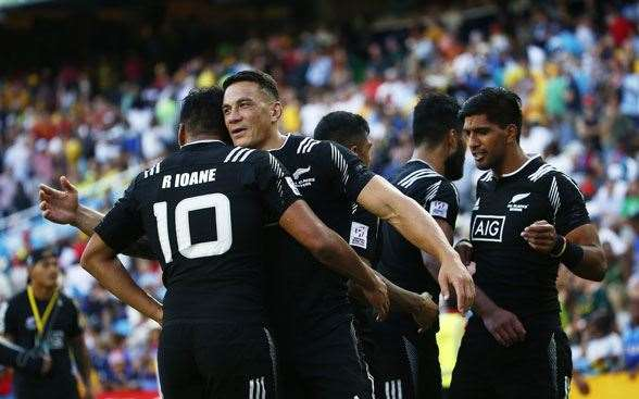 Sonny Bill Williams another of the union stars converting to sevens in an Olympic year. (Photo by Getty Images)