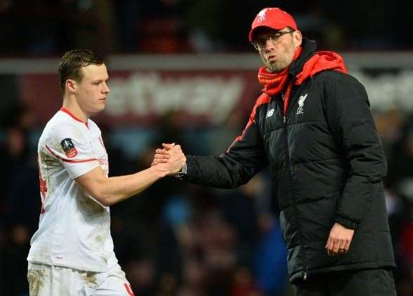 Brad Smith has impressed with his outings for Liverpool. Will he make the left back position for the Socceroos his own? (Getty Images)