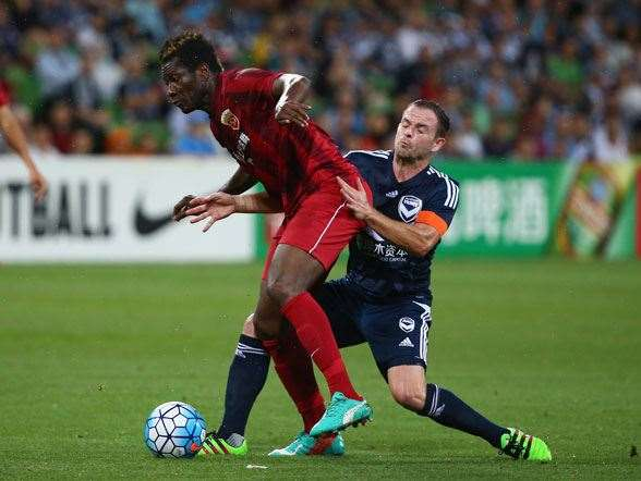 Asamoah Gyan - Shanghai SIPG - $23m annual salary. (Photo by Getty Images)