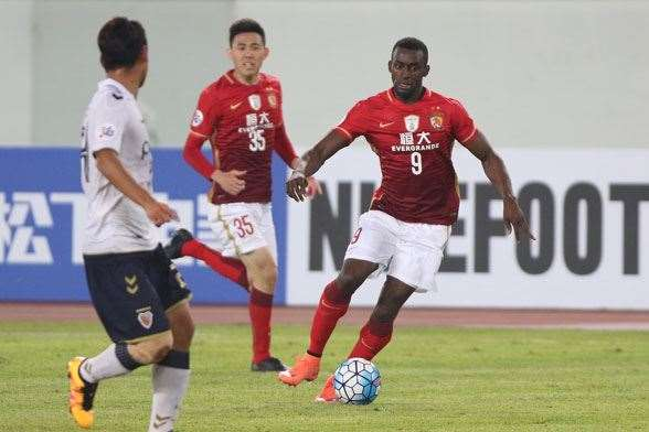 Jackson Martinez - Guangzhou Evergrande - $65m from Atletico Madrid. (Photo by Getty Images)