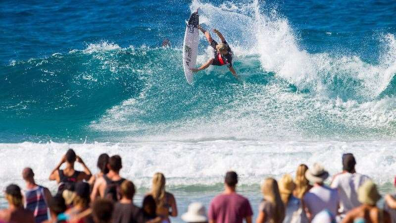 Will John John bring a smart contest game to the Gold Coast? Photo: WSL/Kirstin