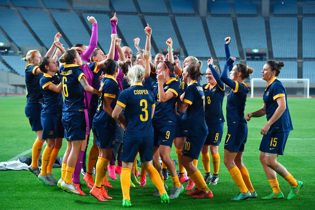 Plenty to dance about: Australia has is set to dethrone Japan as AFC's no. 1 (Getty Images)