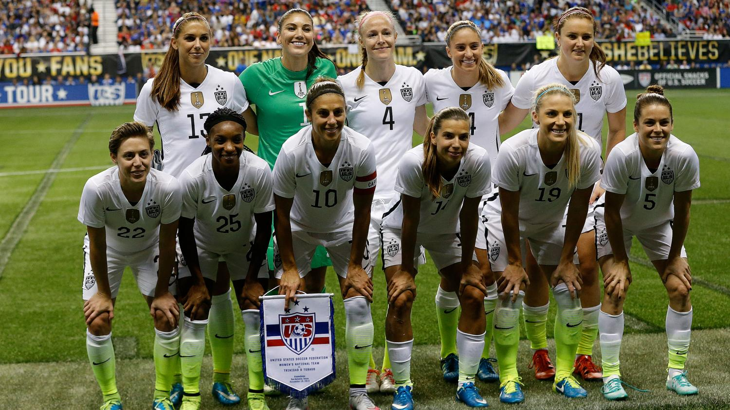 The USWNT has been dominant in the rankings since its initiation (Getty Images)