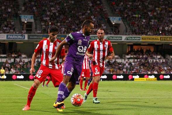 Diego Castro, Perth Glory - (Photo by Getty Images)