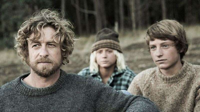 Simon Baker as the character of Sando in Breath. Baker will also direct the film which is based on Tim Winton's award winning novel. Photo: Nic Duncan